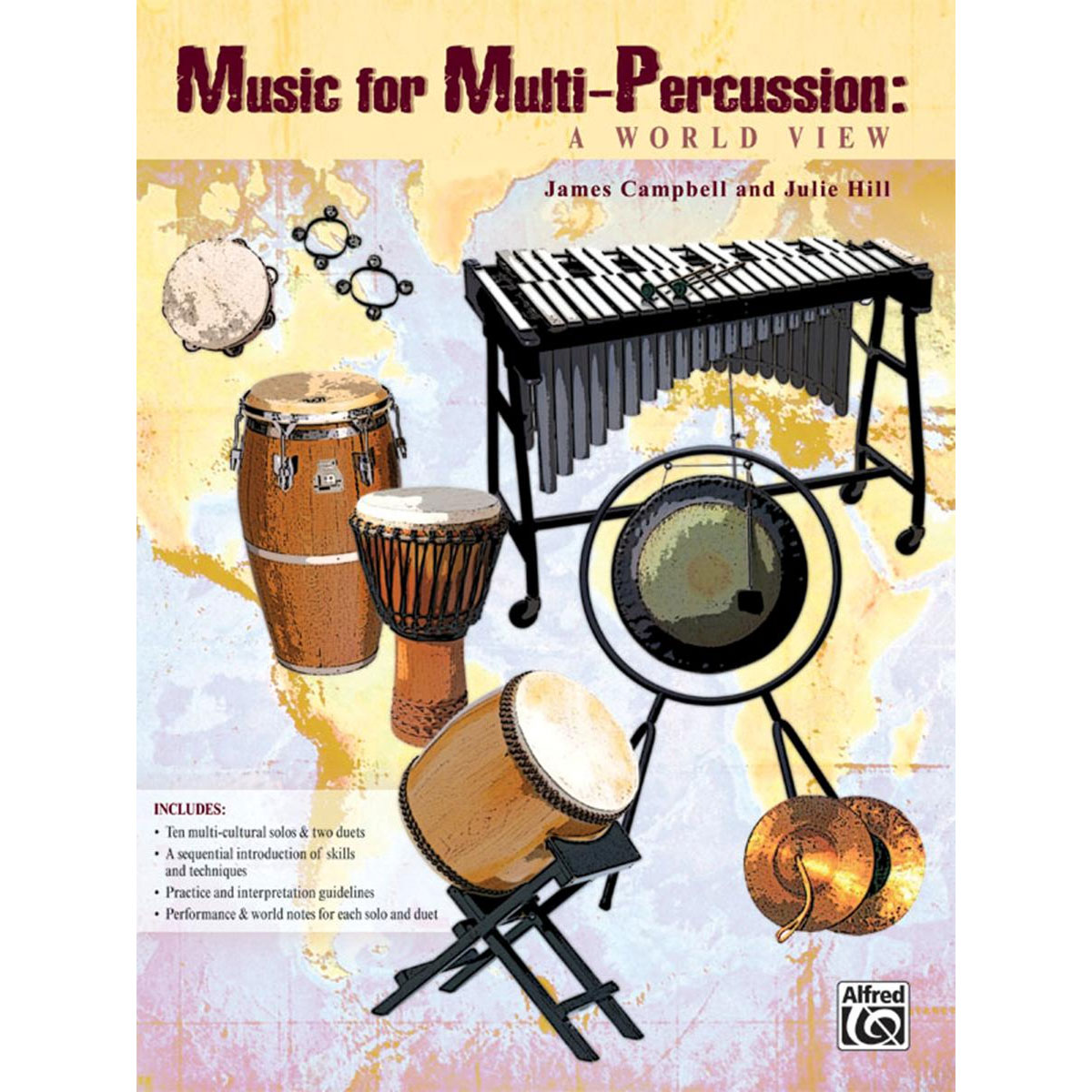 Music for MultiPercussion by James Campbell