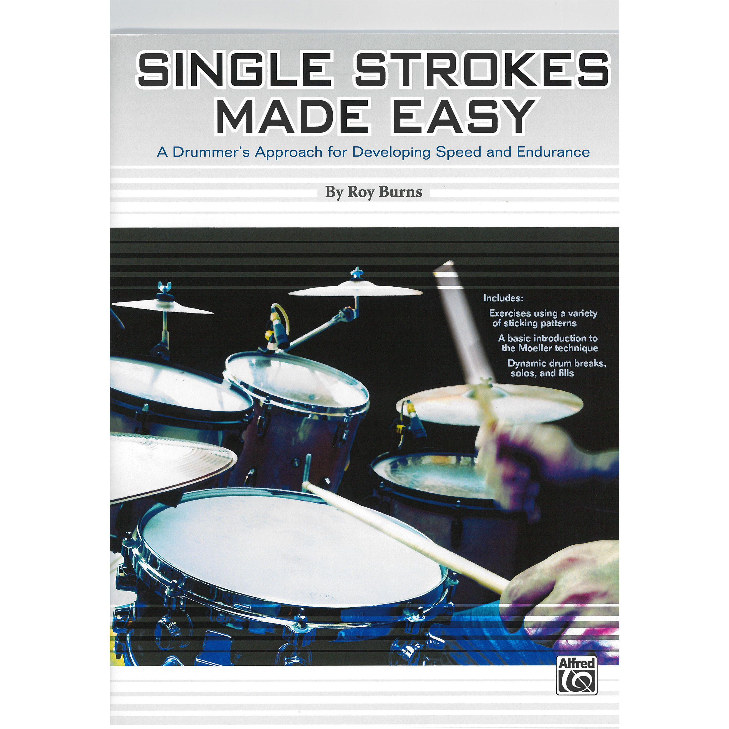 Single Strokes Made Easy by Roy Burns