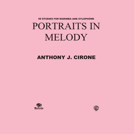 Portraits in Melody by Anthony Cirone