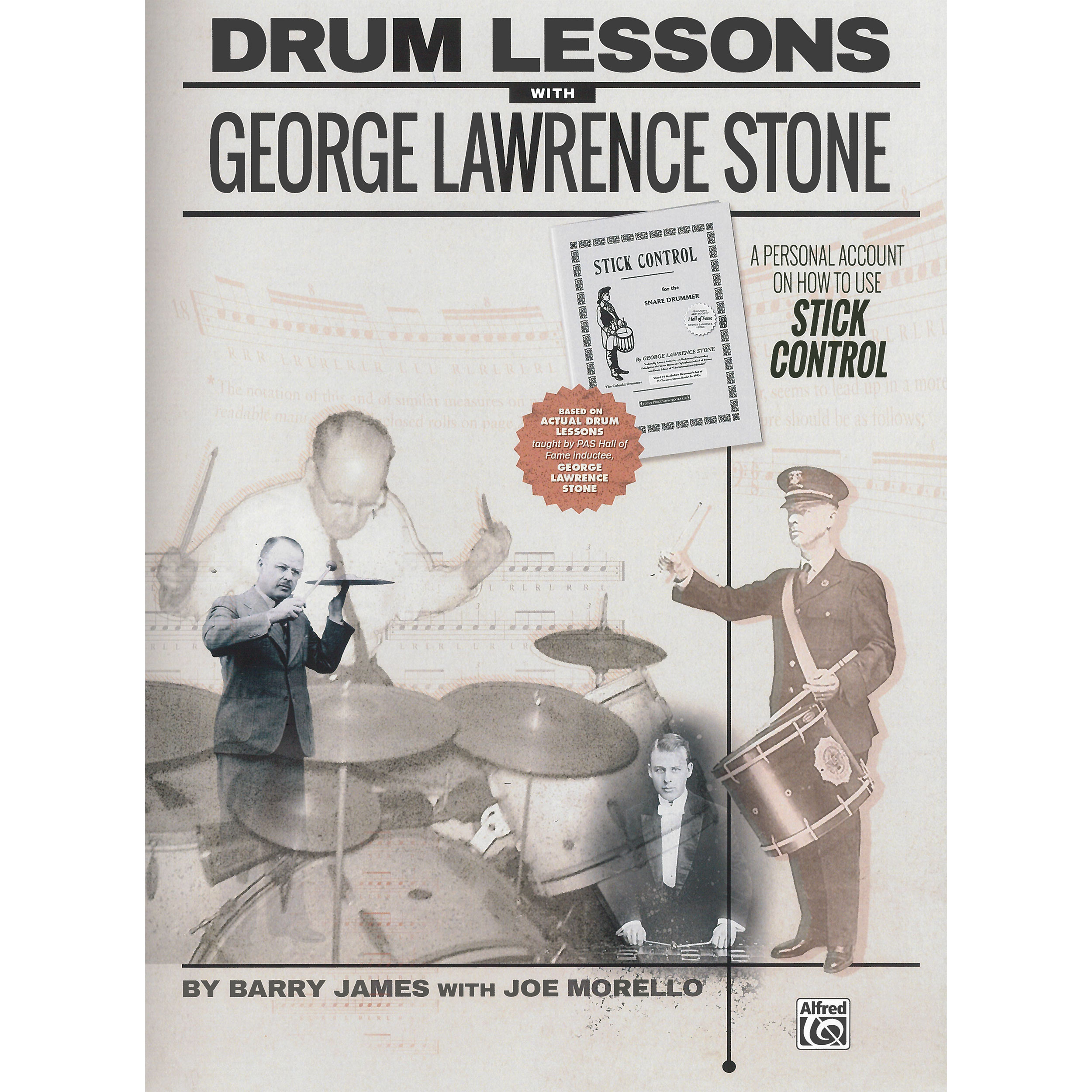 Drum Lessons with George Lawrence Stone by Barry James and Joe Morello