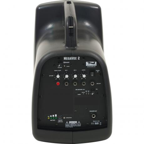 Anchor Audio MegaVox with Built-In Bluetooth and Dual Wireless Microphone Receiver