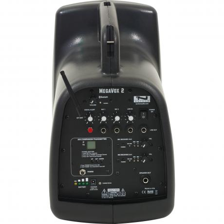 Anchor Audio MegaVox with Built-In Bluetooth, AIR Transmitter and Two Dual Wireless Microphone Receivers