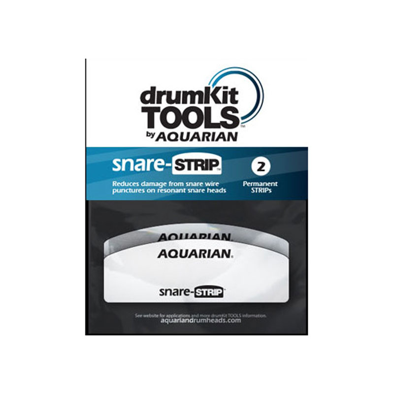 Aquarian Snare-Strips (2-Pack)