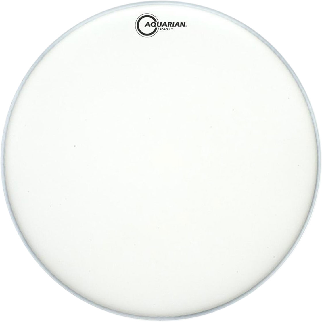"""Aquarian 18"""" Full Force I Texture Coated Bass Drum Head with Vented Control Ring"""