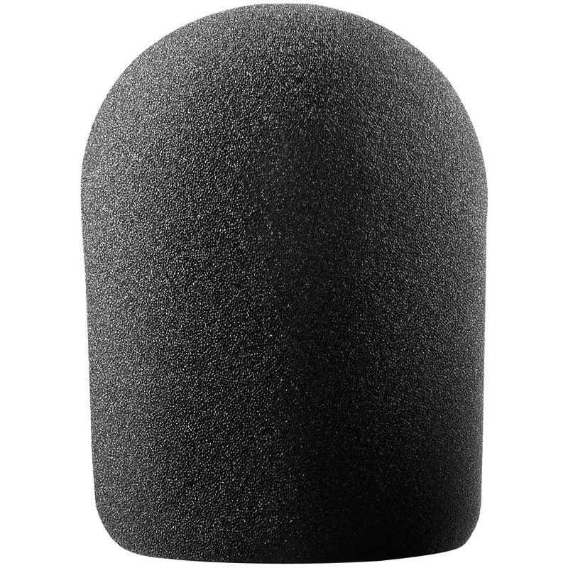 Audio-Technica Black Foam Windscreen for Large-Diaphragm Condenser Microphones (AT2035, AT2050, AT4033, AT4040, AT4050, AT4047)