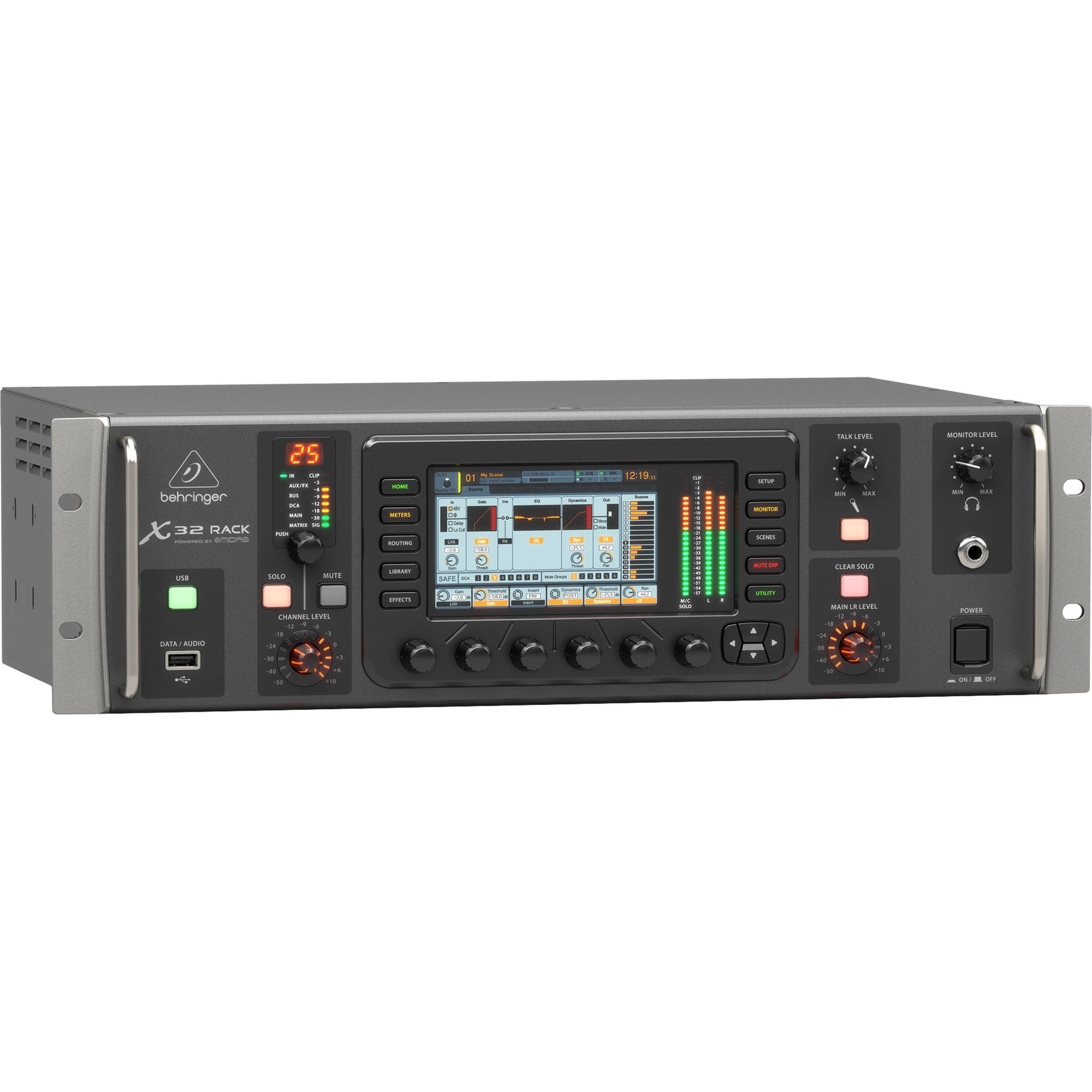 Behringer 40-Input Digital Rack Mixing Console