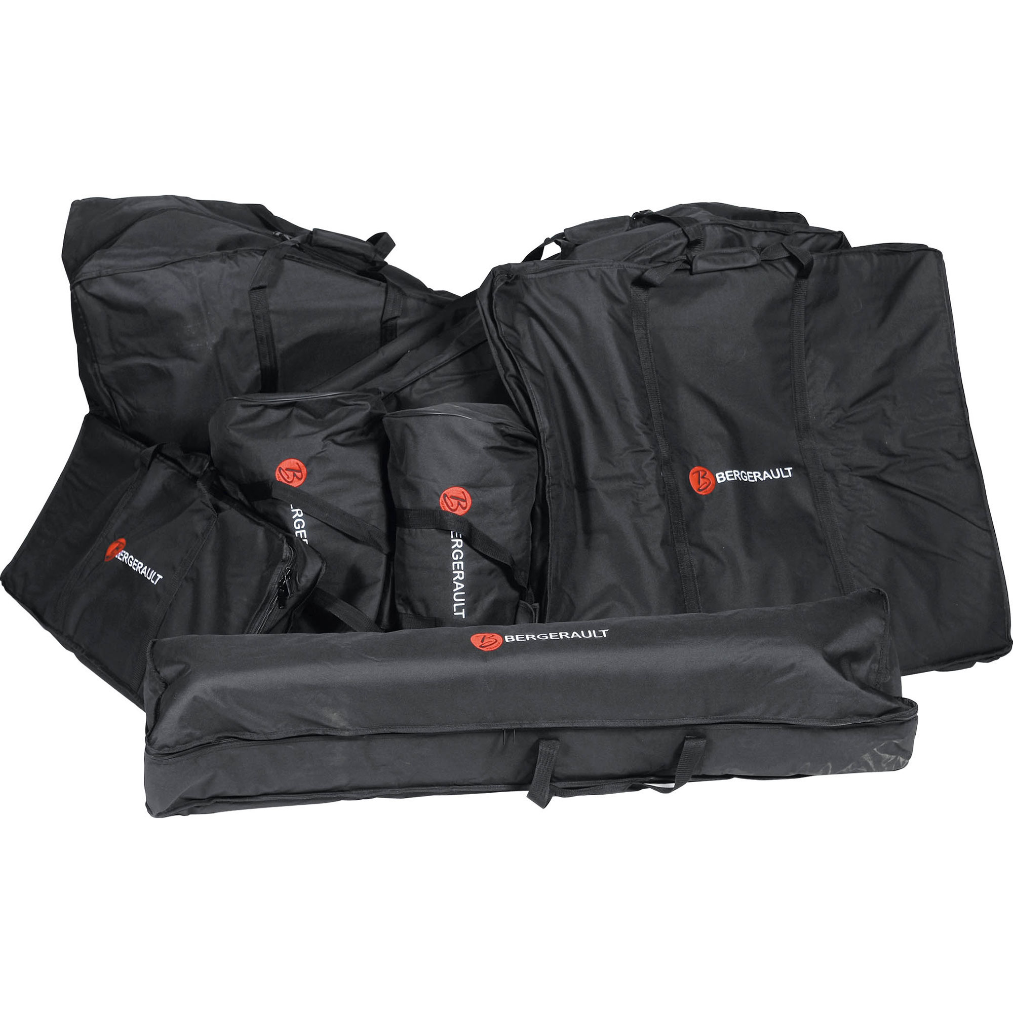 Bergerault Set of 7 Gig Bags for SRS50S 5.0 Octave Bar Marimba