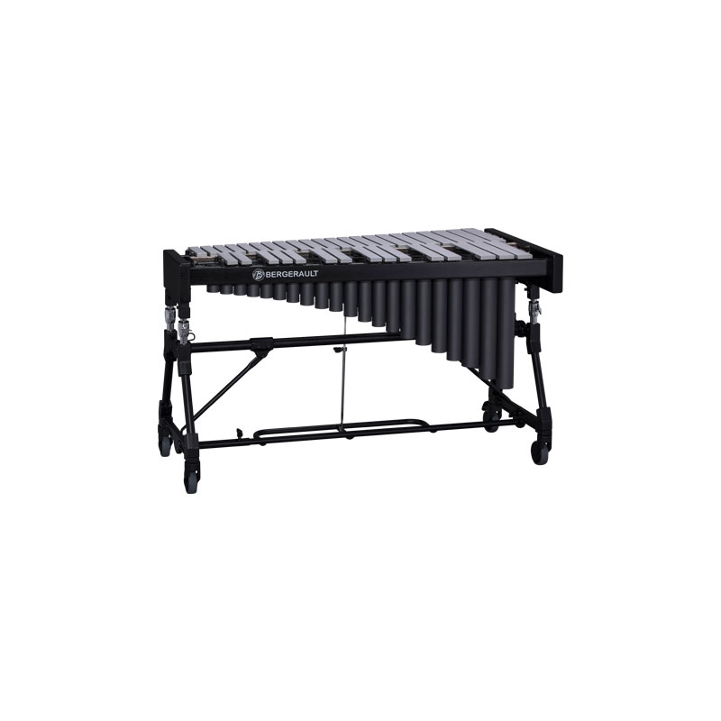 Bergerault 3.0 Octave Performance Series Silver Bar Vibraphone with Concert Frame (No Motor)
