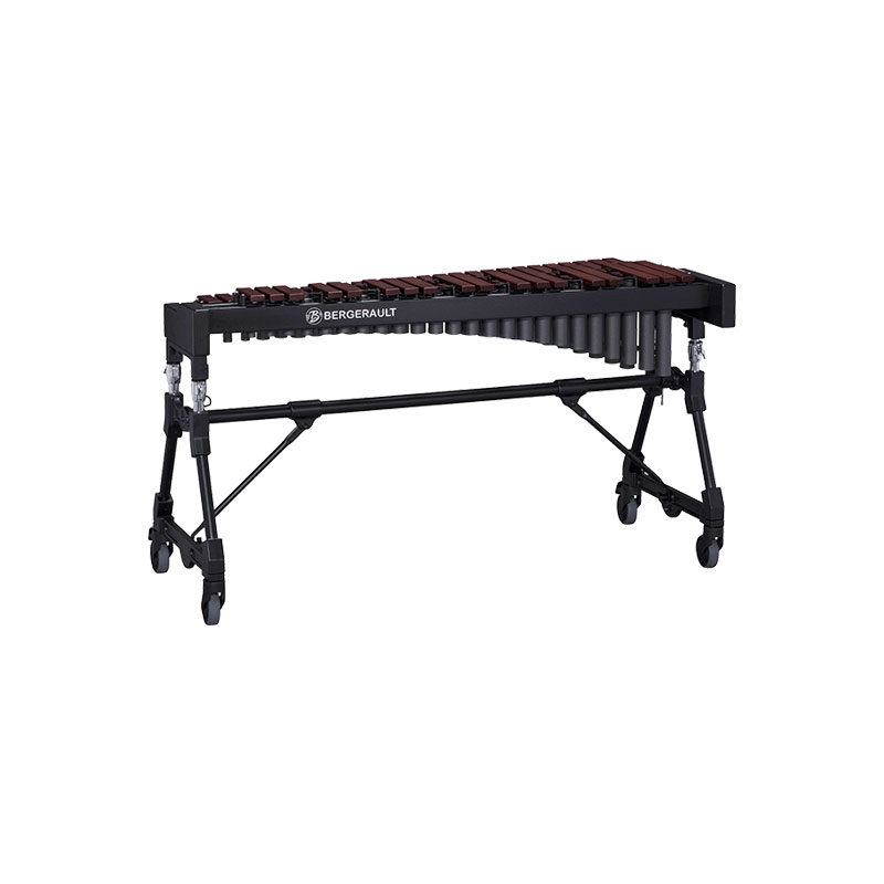 Bergerault 3.5 Octave Performance Series Rosewood Bar Xylophone with Concert Frame