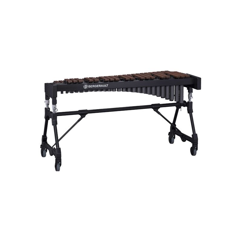 Bergerault 3.5 Octave Performance Series Techlon Synthetic Bar Xylophone with Concert Frame