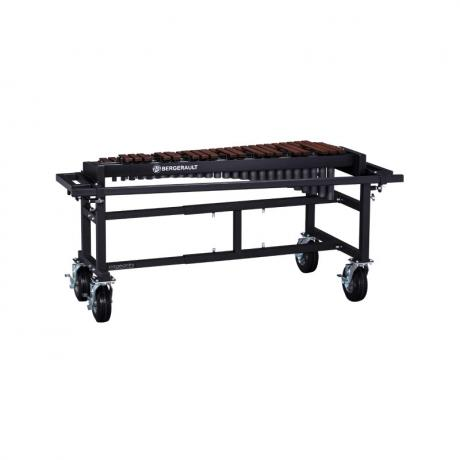 Bergerault 3.5 Octave Performance Series Techlon Synthetic Bar Xylophone with Field Frame