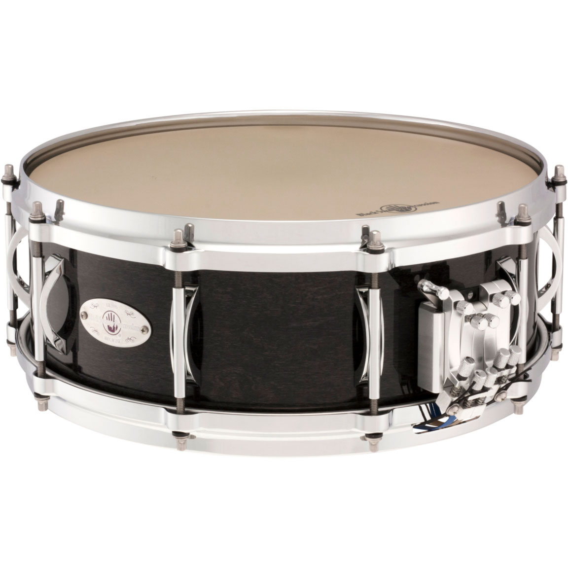 "Black Swamp 5"" x 14"" Multisonic Maple Concert Snare Drum with Die-Cast Hoops"