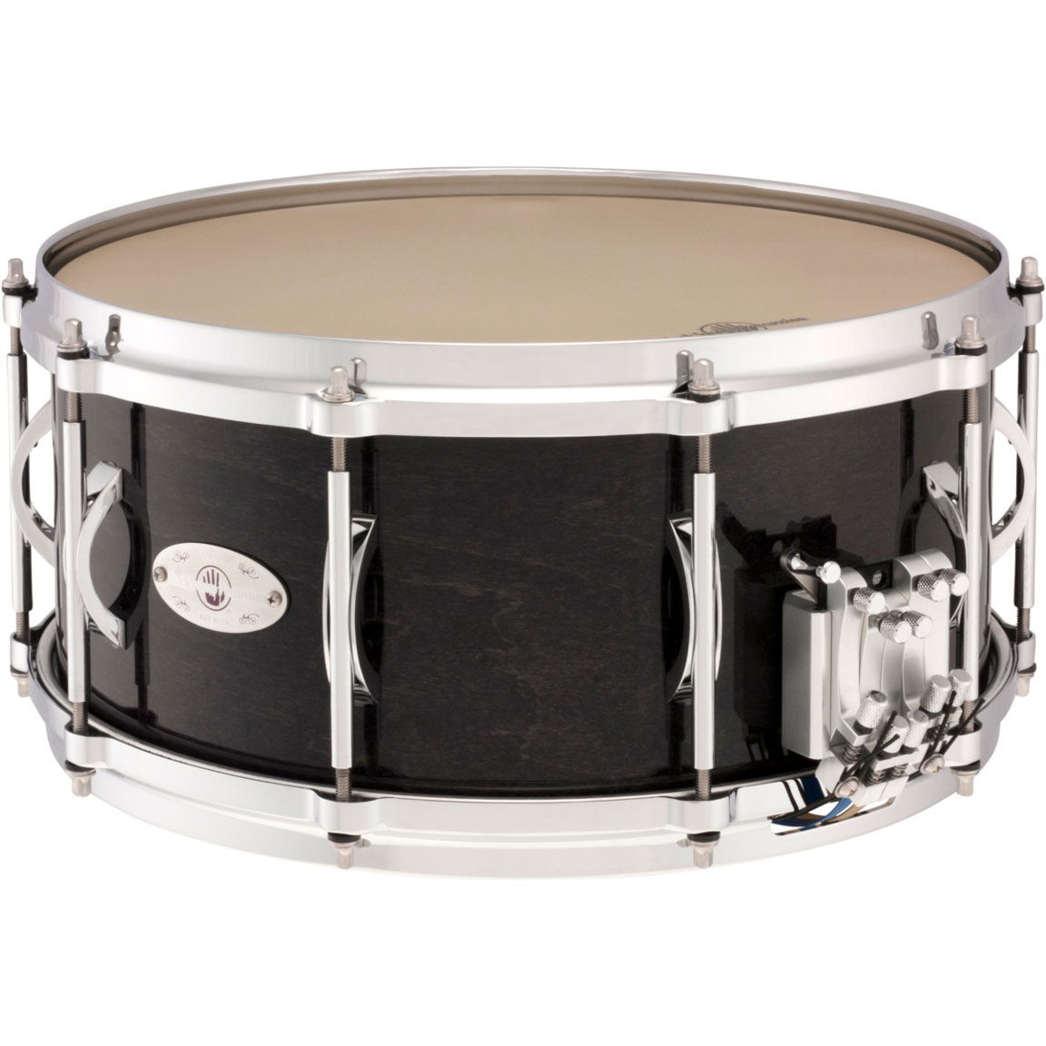 "Black Swamp 6.5"" x 14"" Multisonic Maple Concert Snare Drum with Die-Cast Hoops"