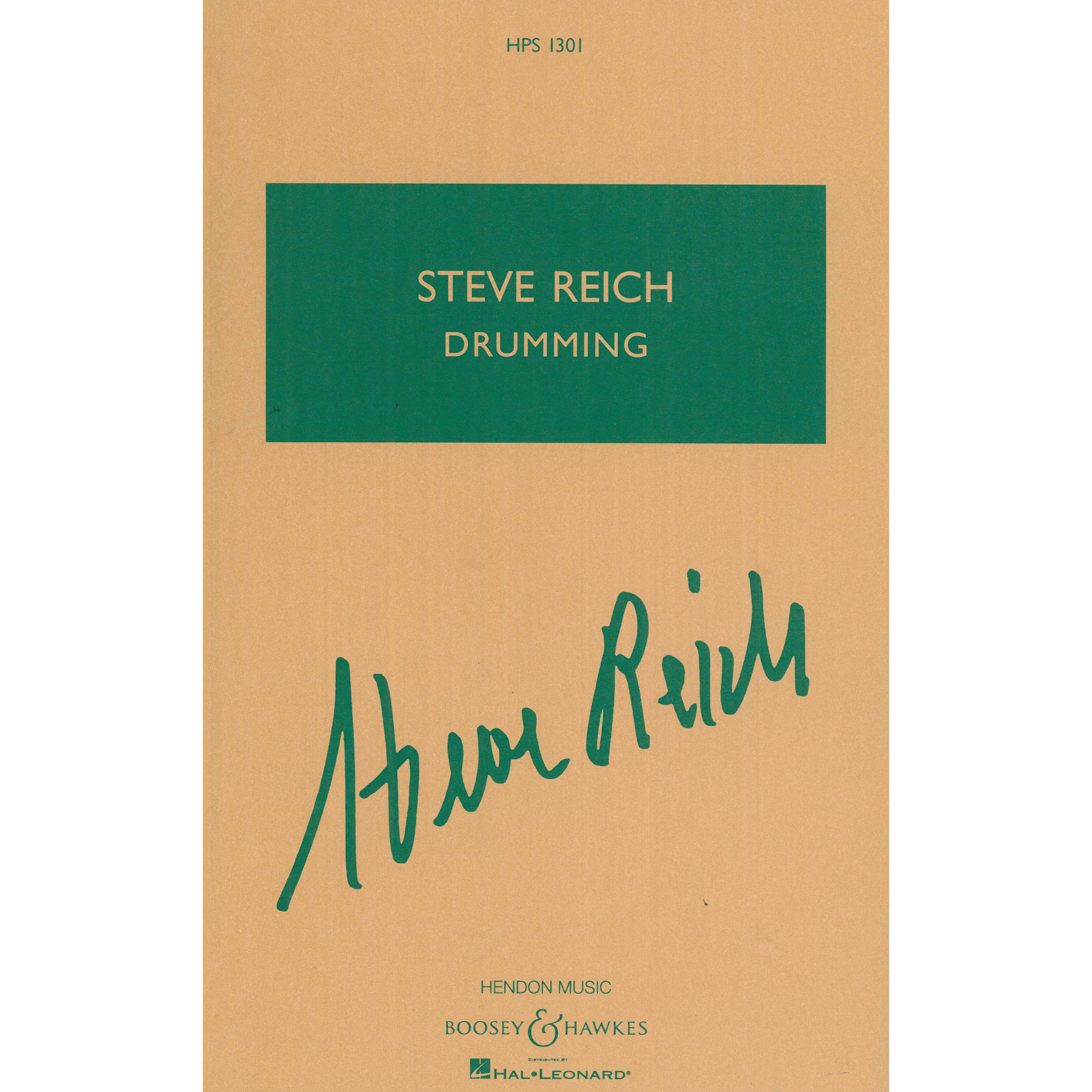 Drumming by Steve Reich (Score Only)