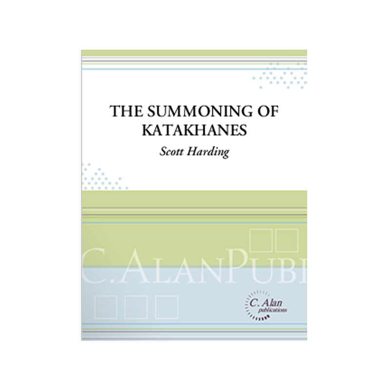 The Summoning of Katakhanes by Scott Harding