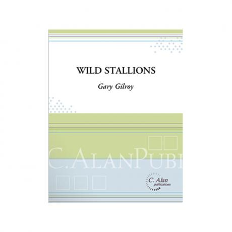 Wild Stallions by Gary Gilroy