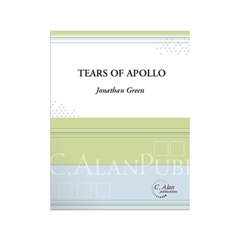 Tears of Apollo by Jonathan Green