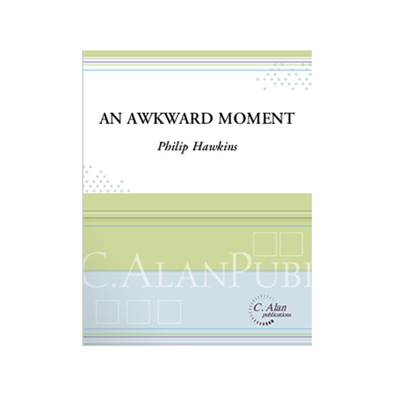 An Awkward Moment by Phil Hawkins