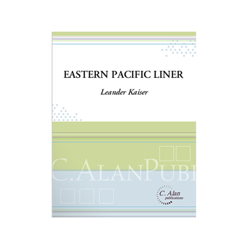 Eastern Pacific Liner by Leander Kaiser