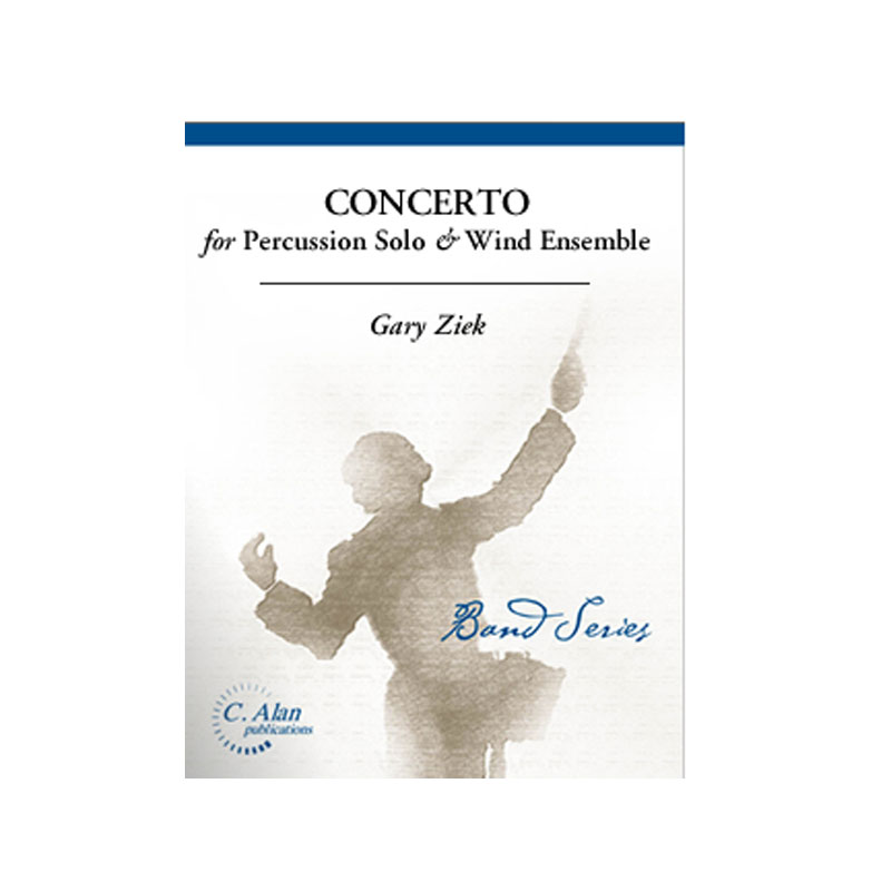 Concerto for Percussion Solo (Piano Reduction) by Gary Ziek