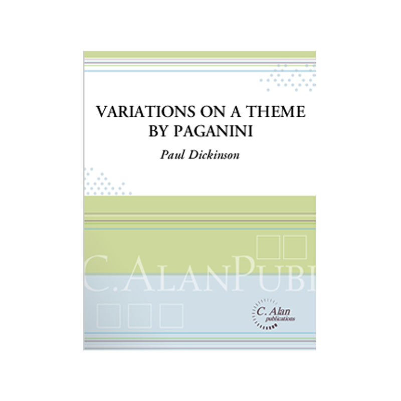 Variations on a Theme by Paganini arr. Paul Dickinson