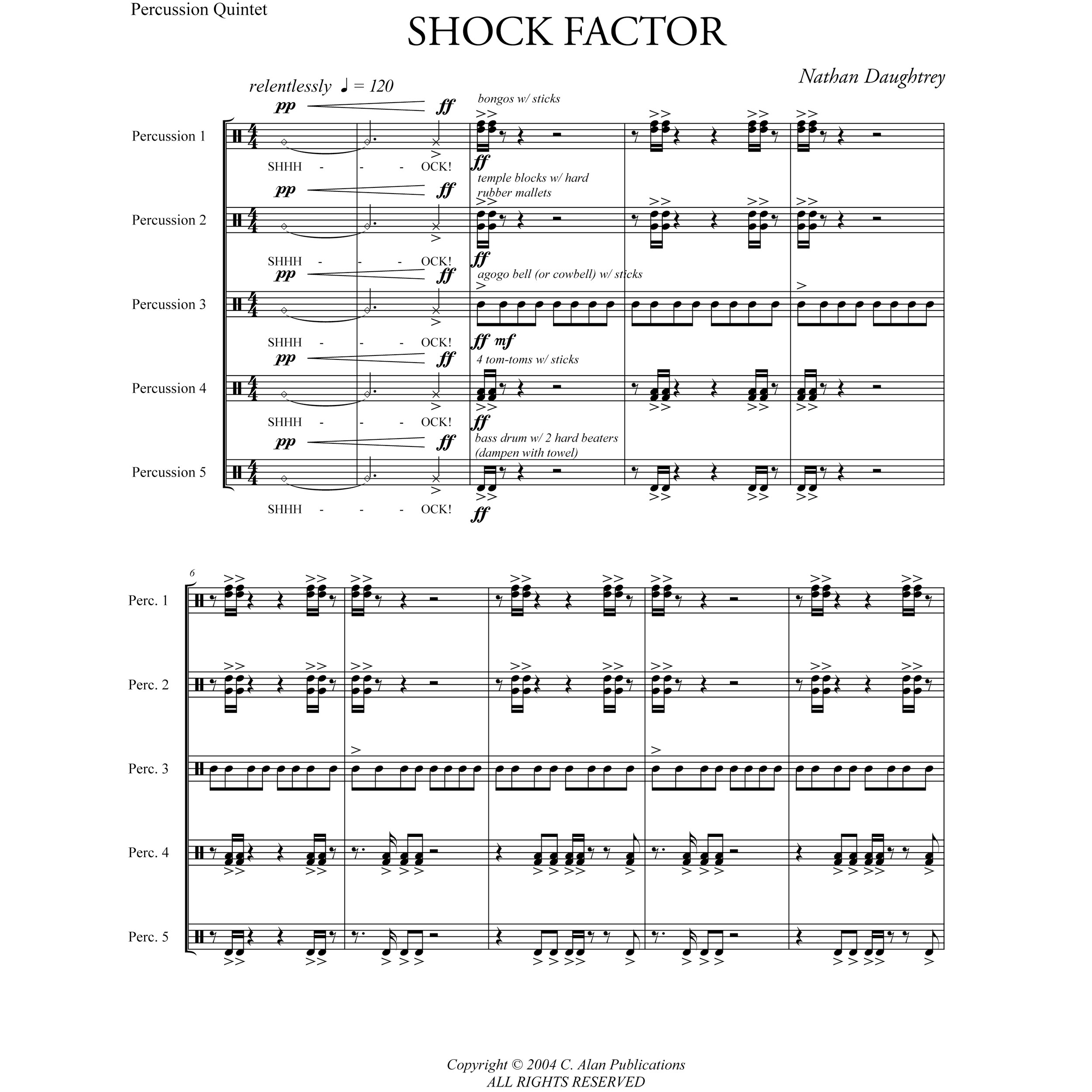 Shock Factor by Nathan Daughtrey