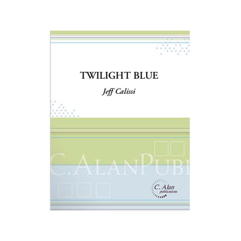 Twilight Blue by Jeff Calissi