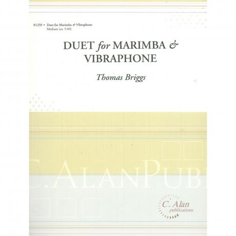 Duo for Marimba and Vibraphone by Thomas Briggs