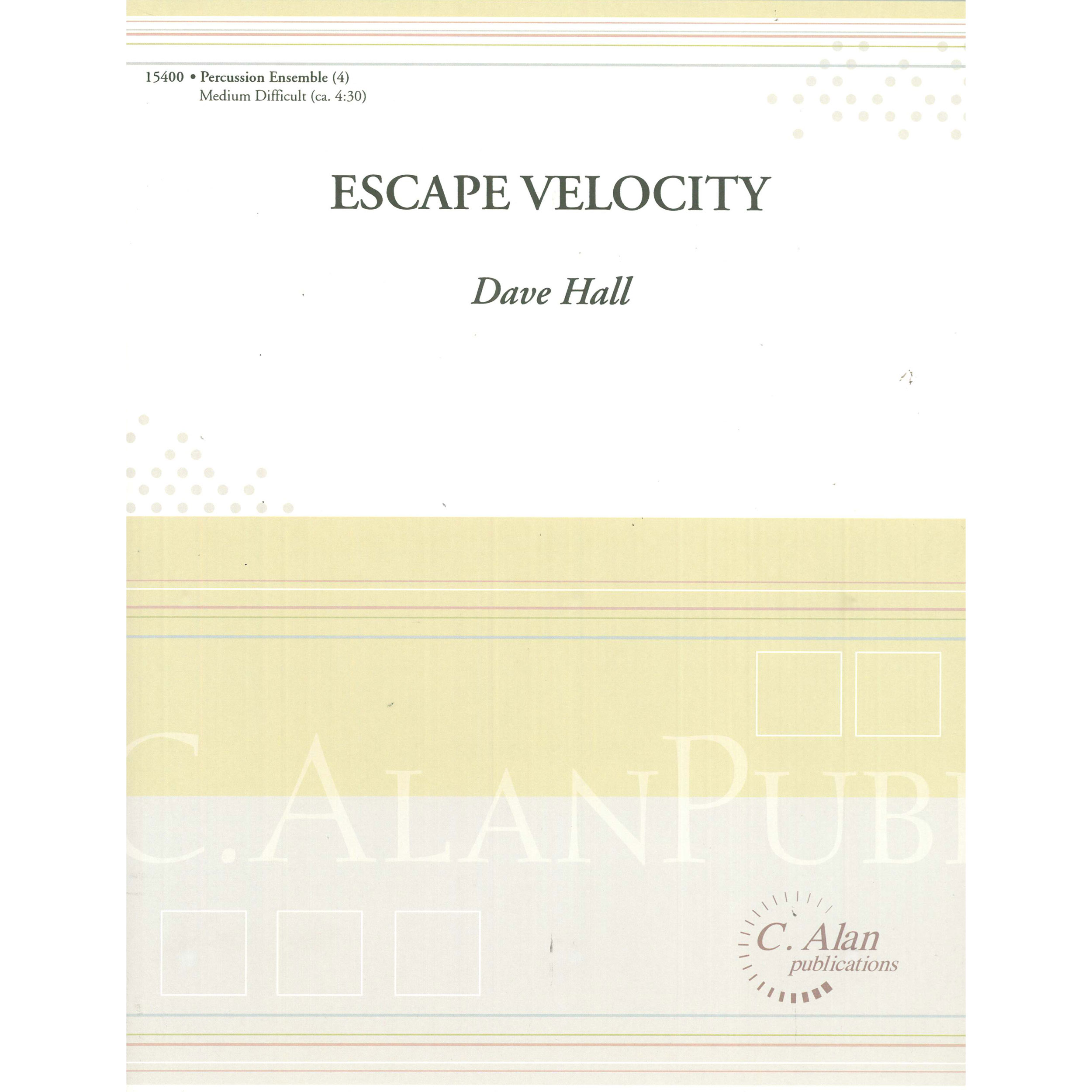Escape Velocity by Dave Hall