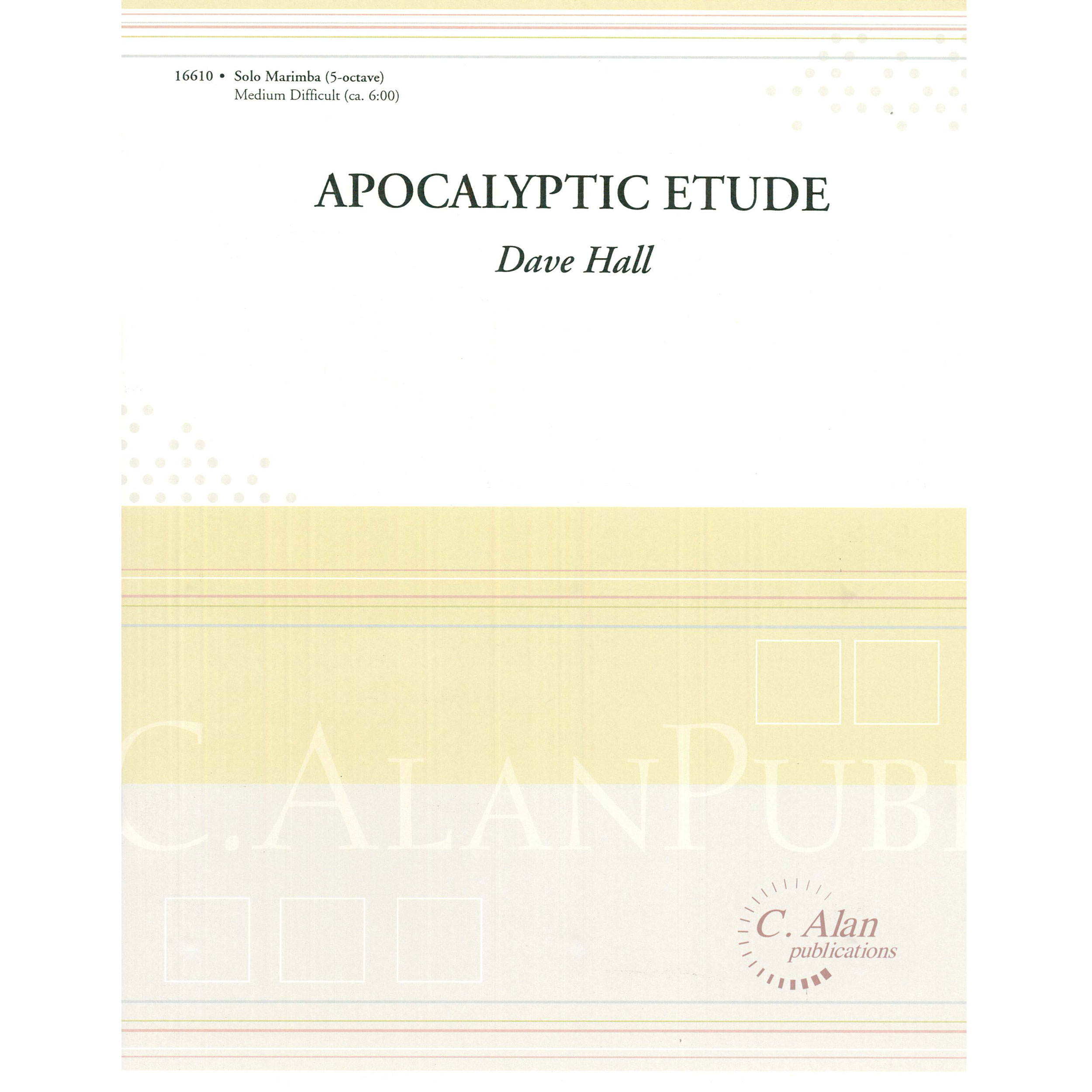 Apocalyptic Etude by Dave Hall
