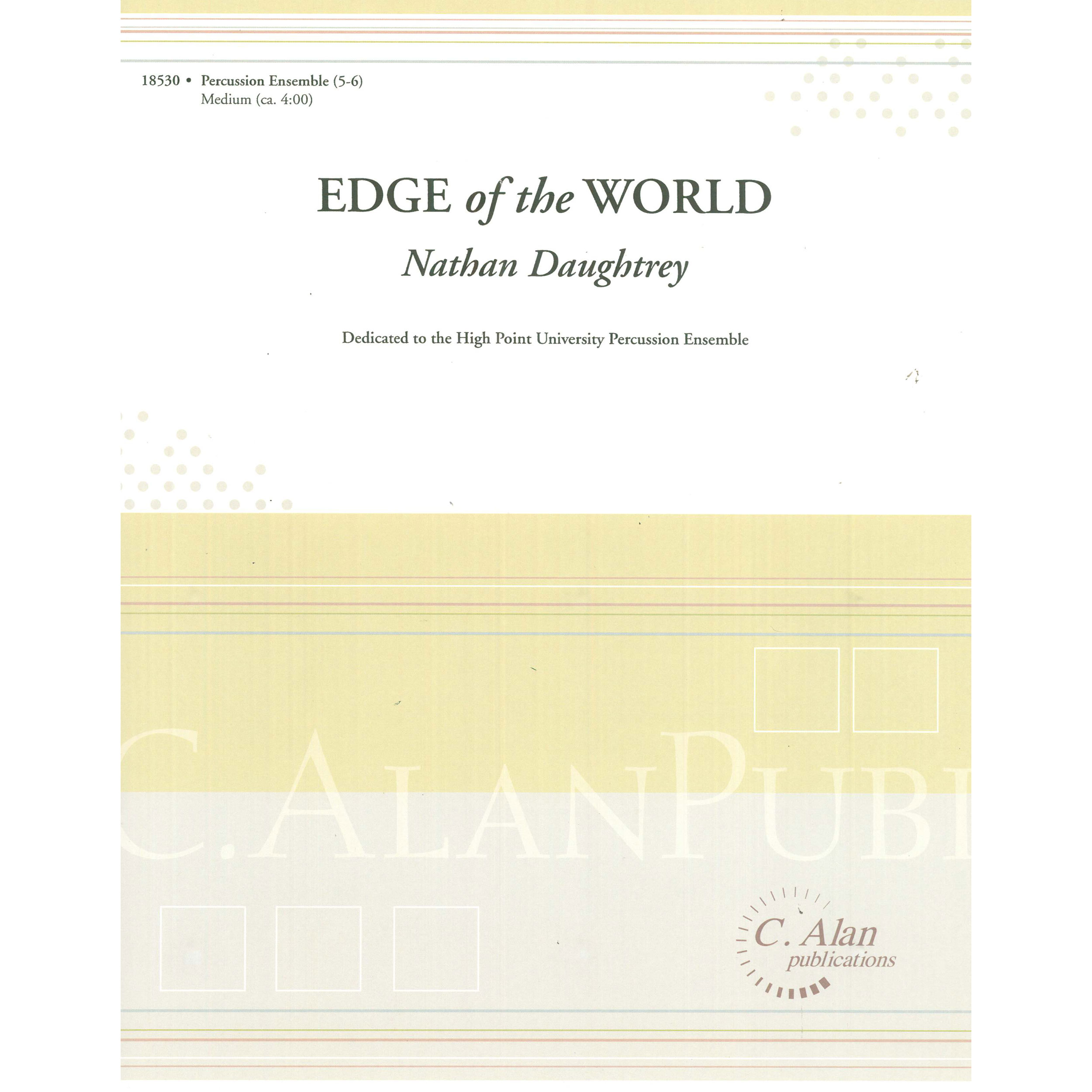 Edge of the World (Chamber Ensemble) by Nathan Daughtrey