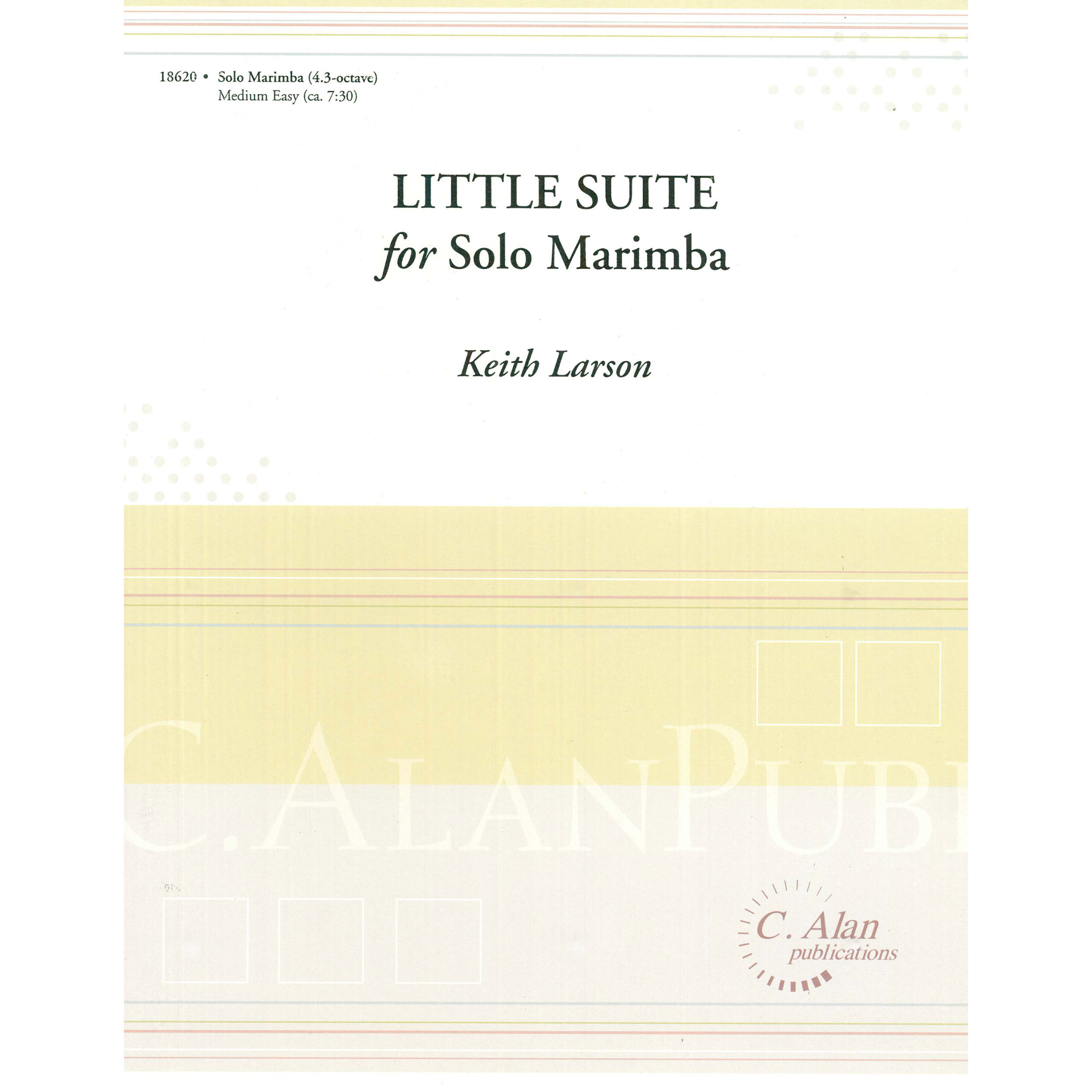 Little Suite for Solo Marimba by Keith Larson