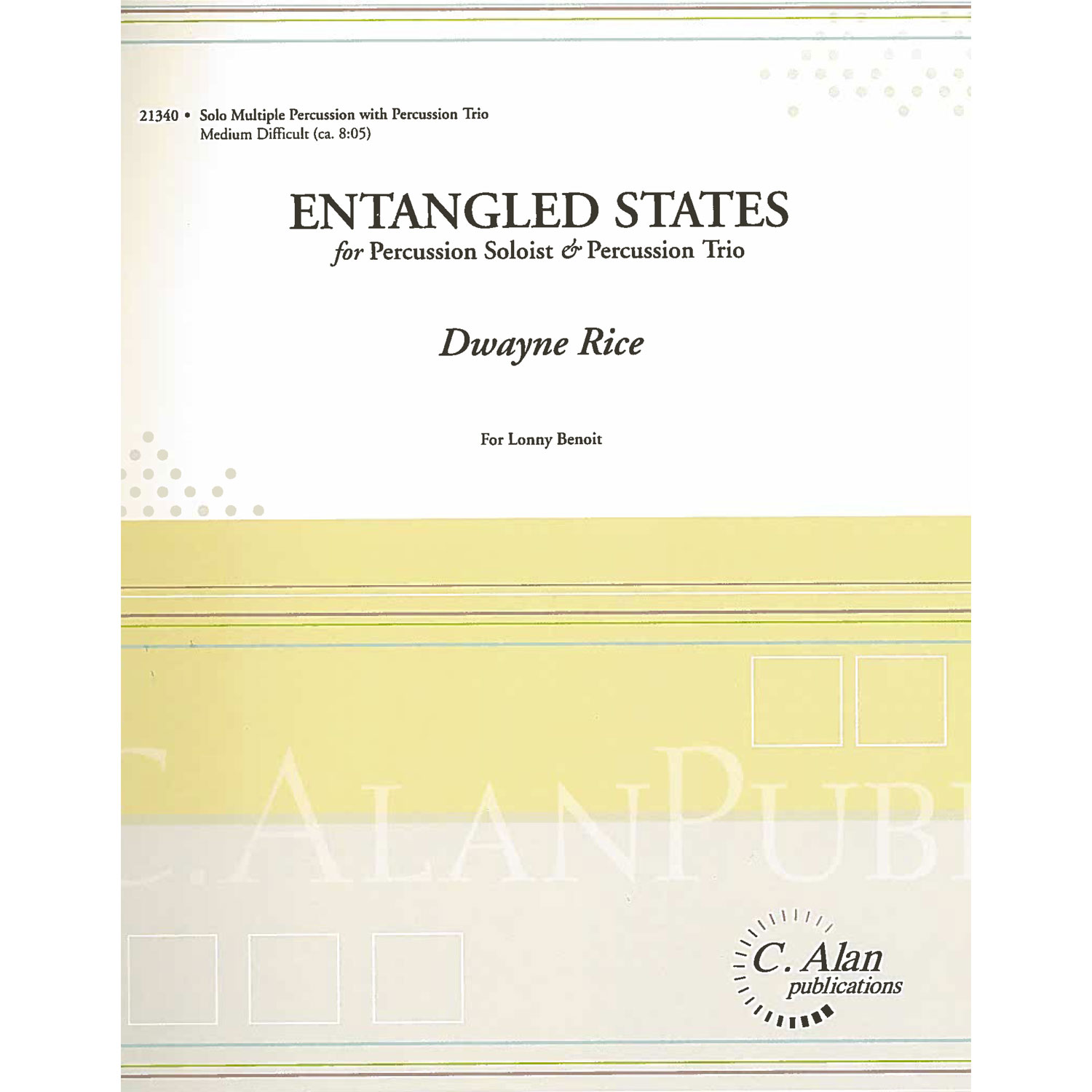 Entangled States by Dwayne Rice