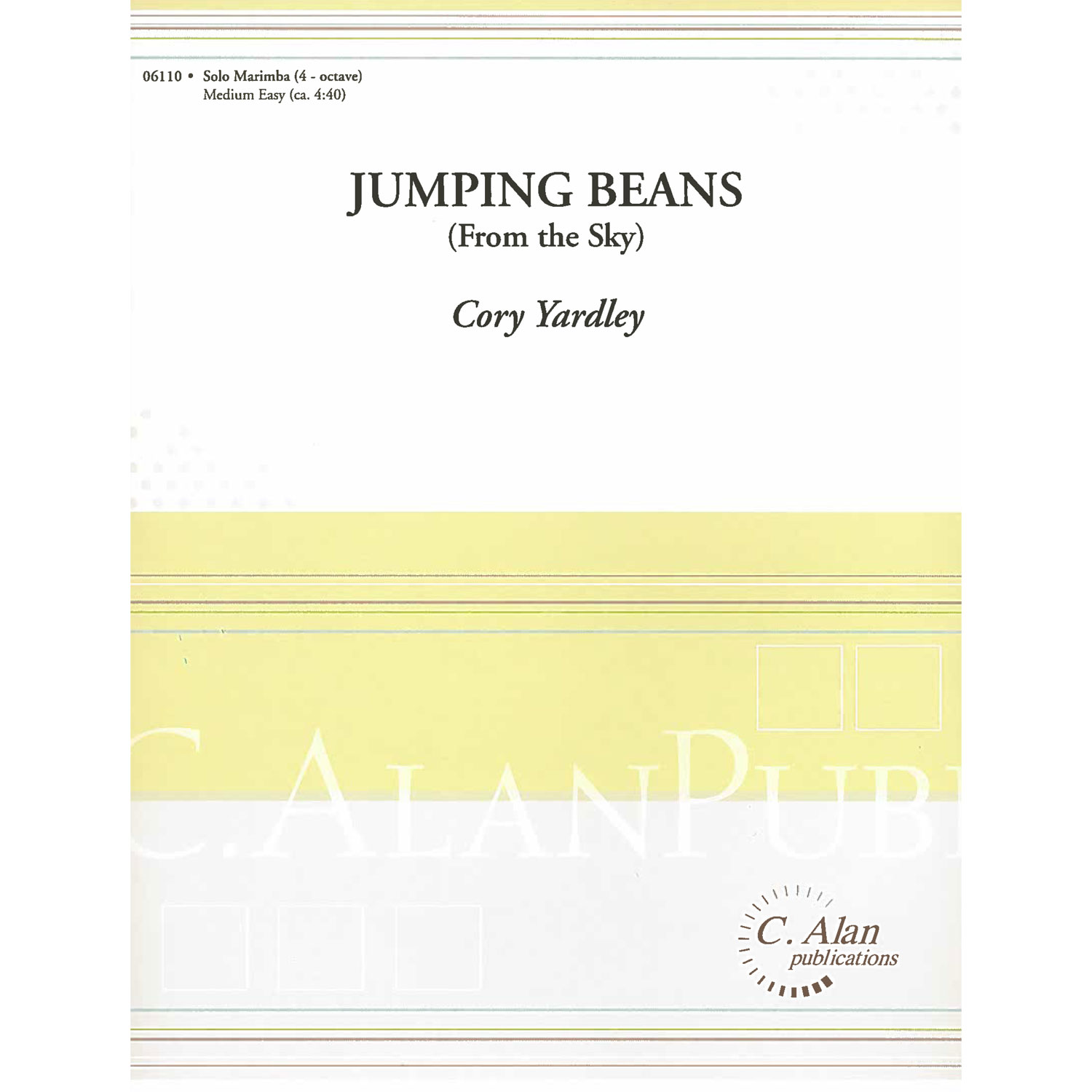 Jumping Beans (From the Sky) by Cory Yardley
