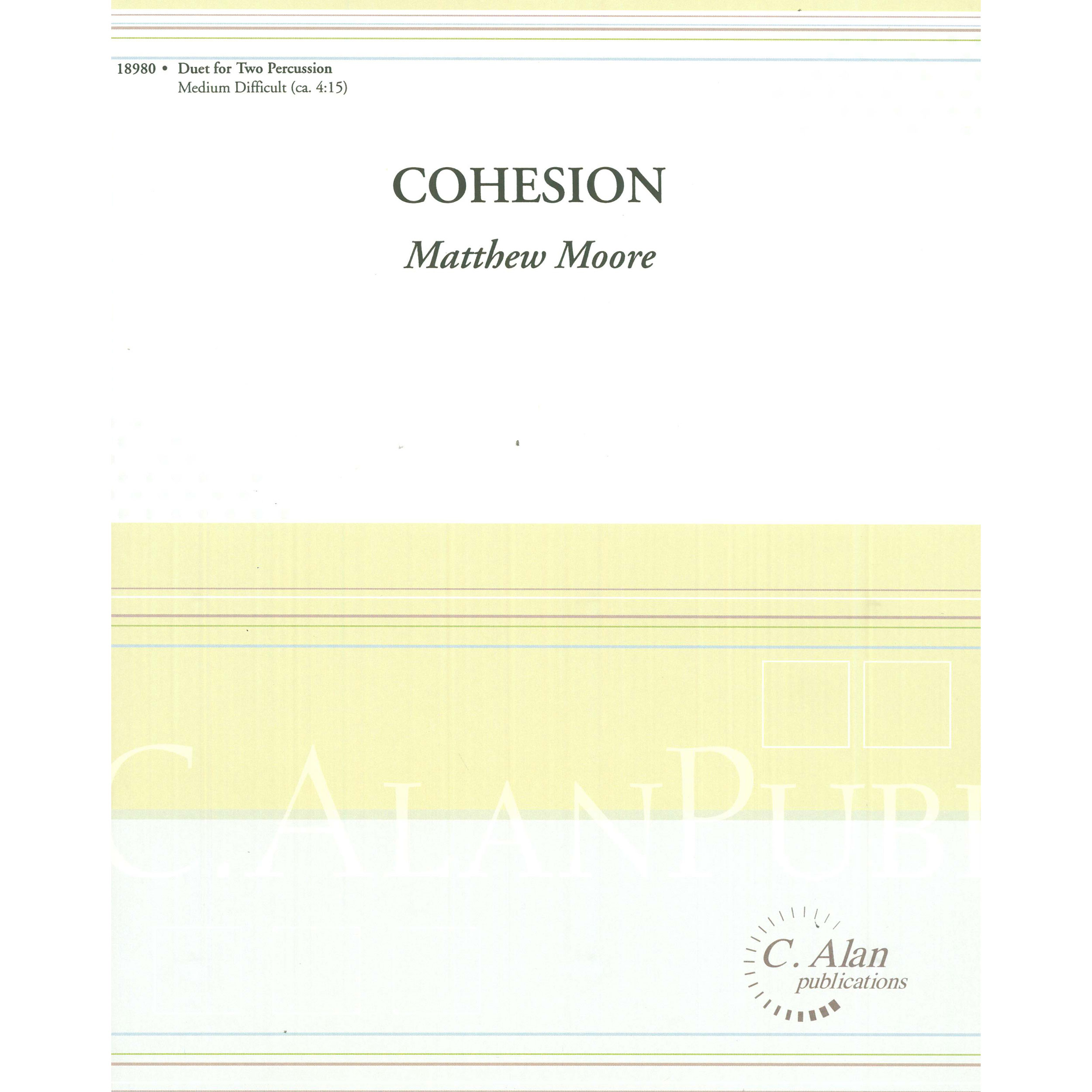 Cohesion by Matt Moore