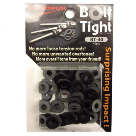 Canopus Bolt Tight Leather Tension Rod Washers (40-Pack)