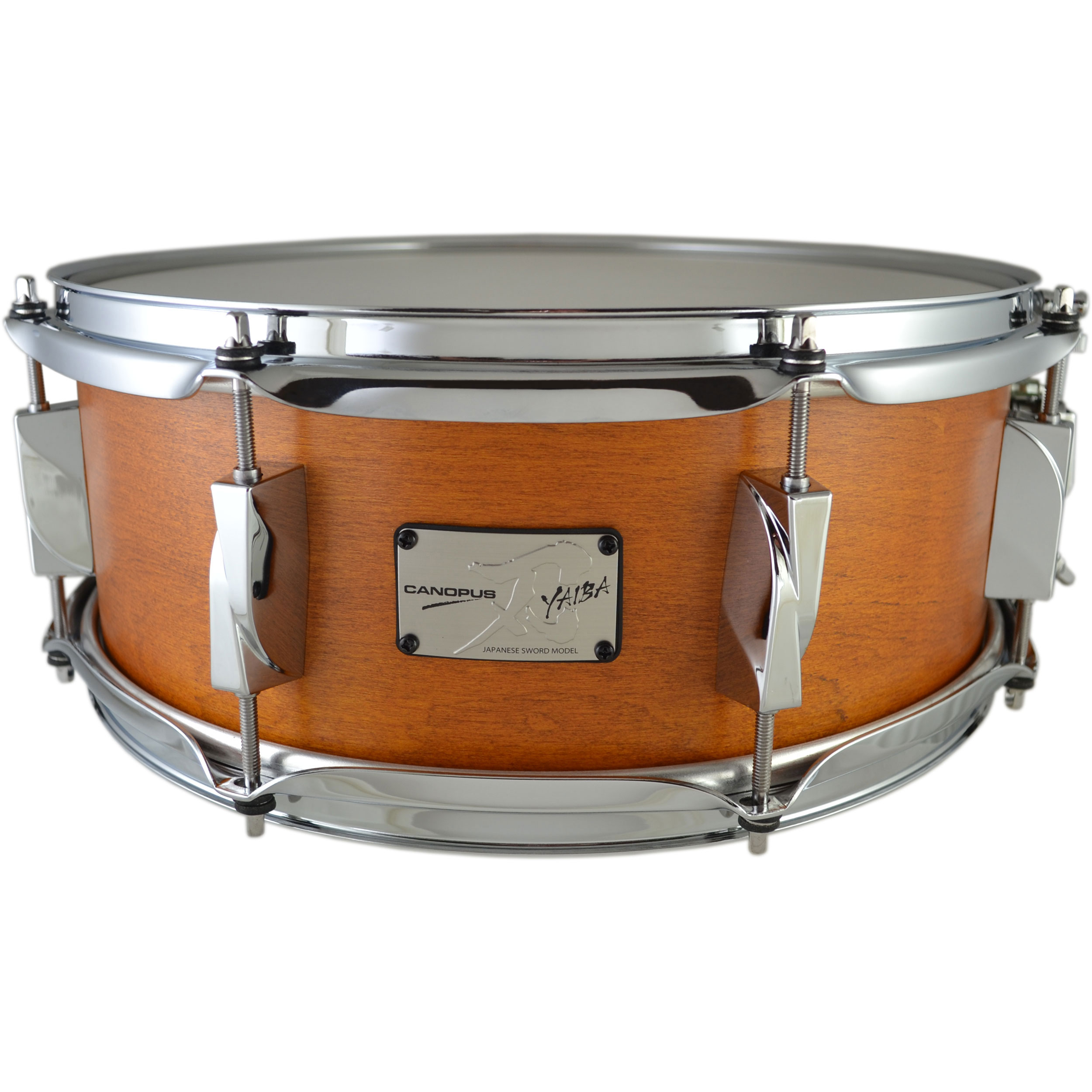 "Canopus 5.5"" x 14"" Yaiba II Maple Snare Drum"