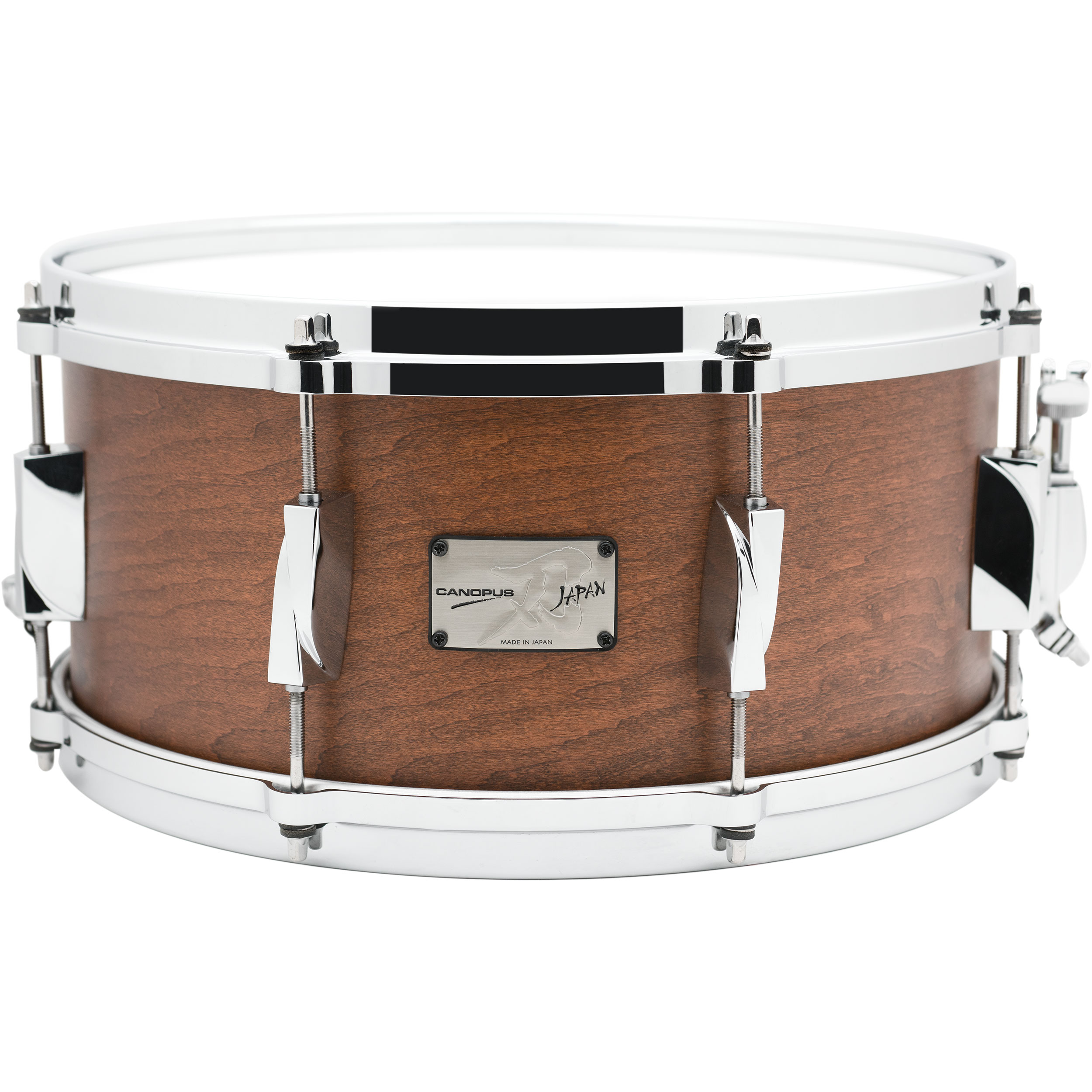 "Canopus 6.5"" x 14"" Yaiba II Maple Snare Drum"
