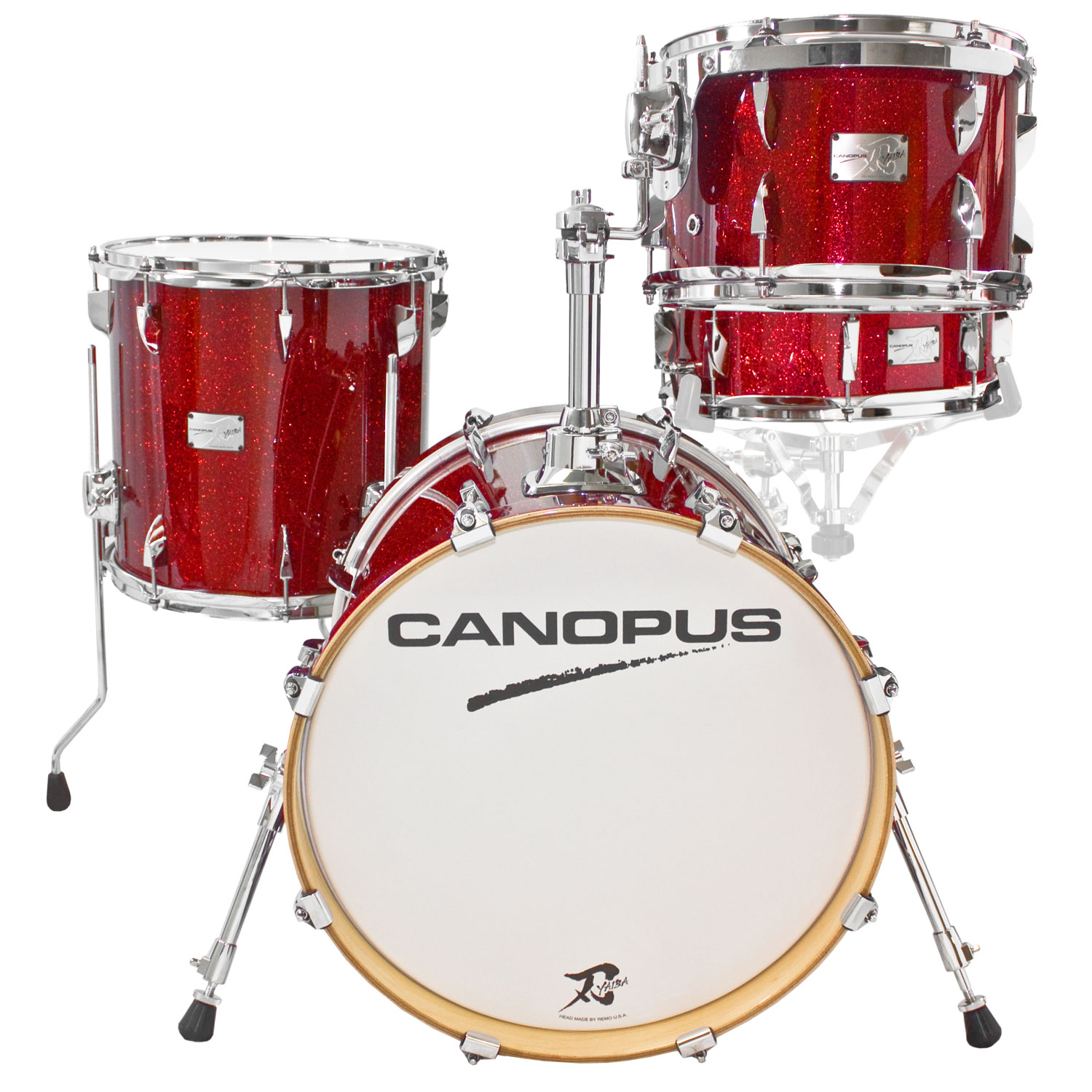 "Canopus Yaiba ""Bop Kit"" 4-Piece Drum Set Shell Pack (18"" Bass, 12/14"" Toms, 14"" Snare)"