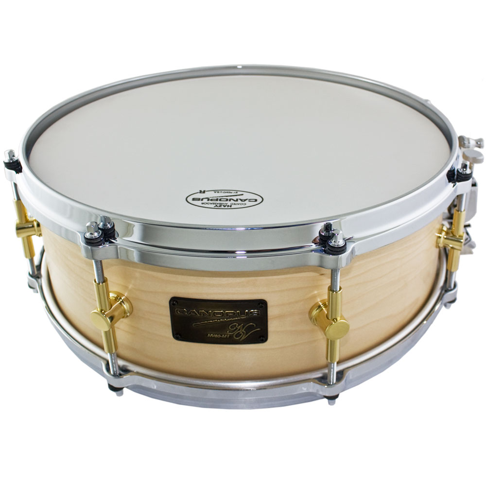 "Canopus 14"" x 5.5"" Neo-Vintage Maple/Poplar Snare Drum in Natural Oil"