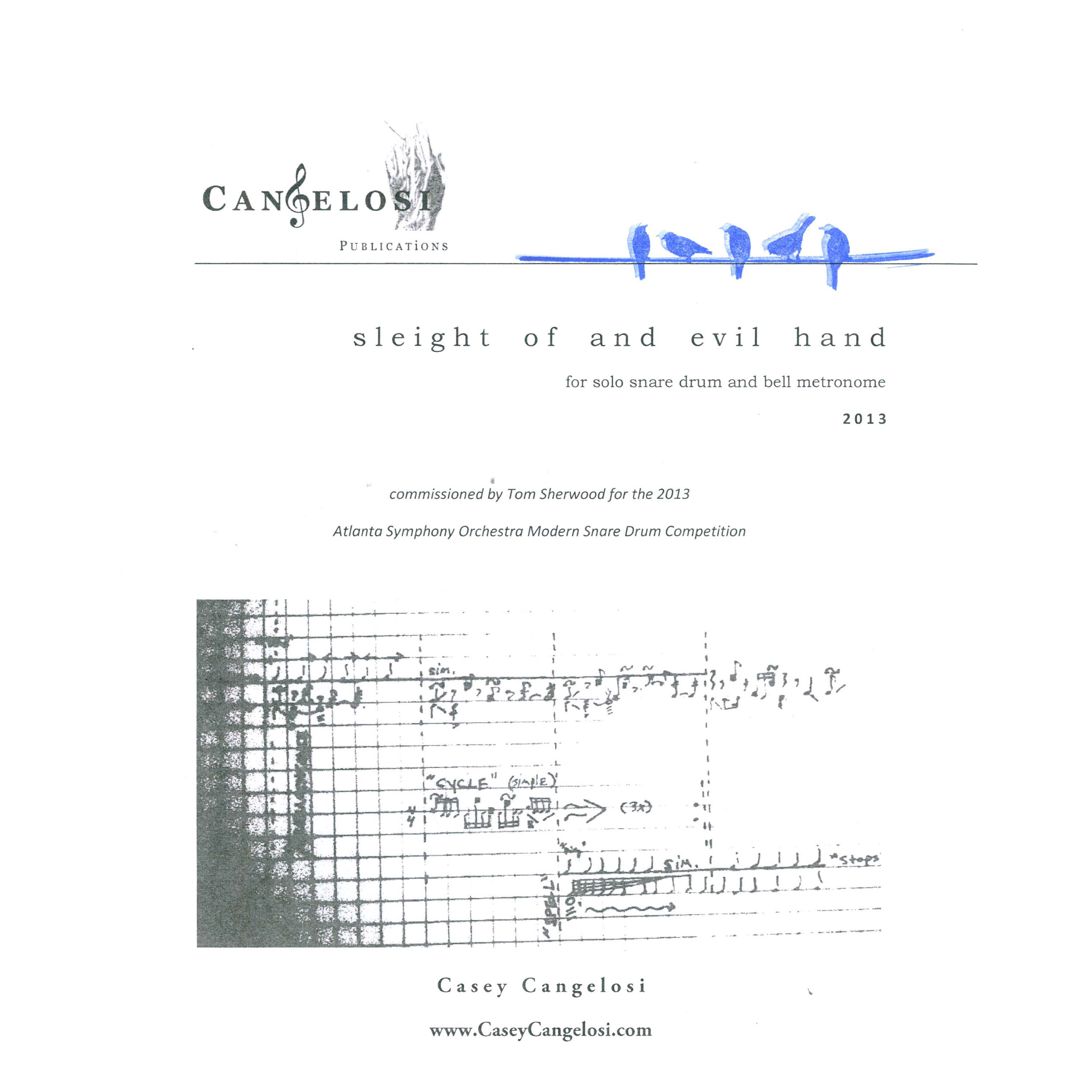 Sleight of And Evil Hand by Casey Cangelosi