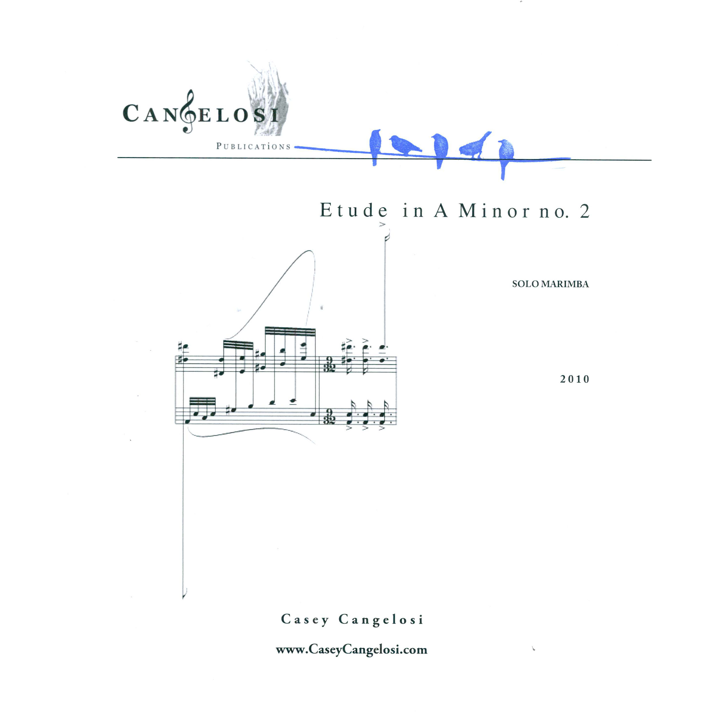 Etude in A Minor no. 2 by Casey Cangelosi