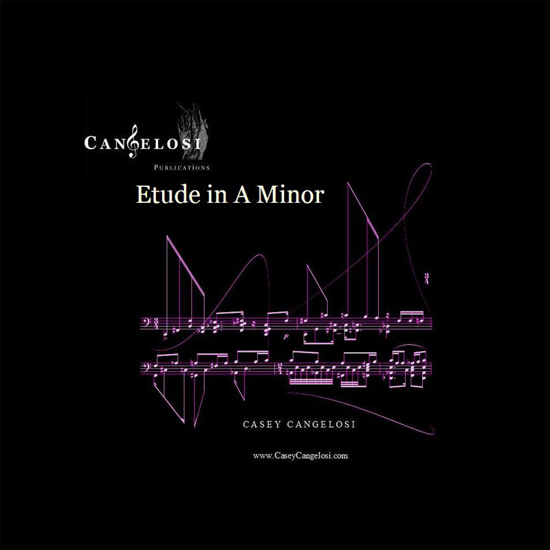 Etude in A Minor by Casey Cangelosi