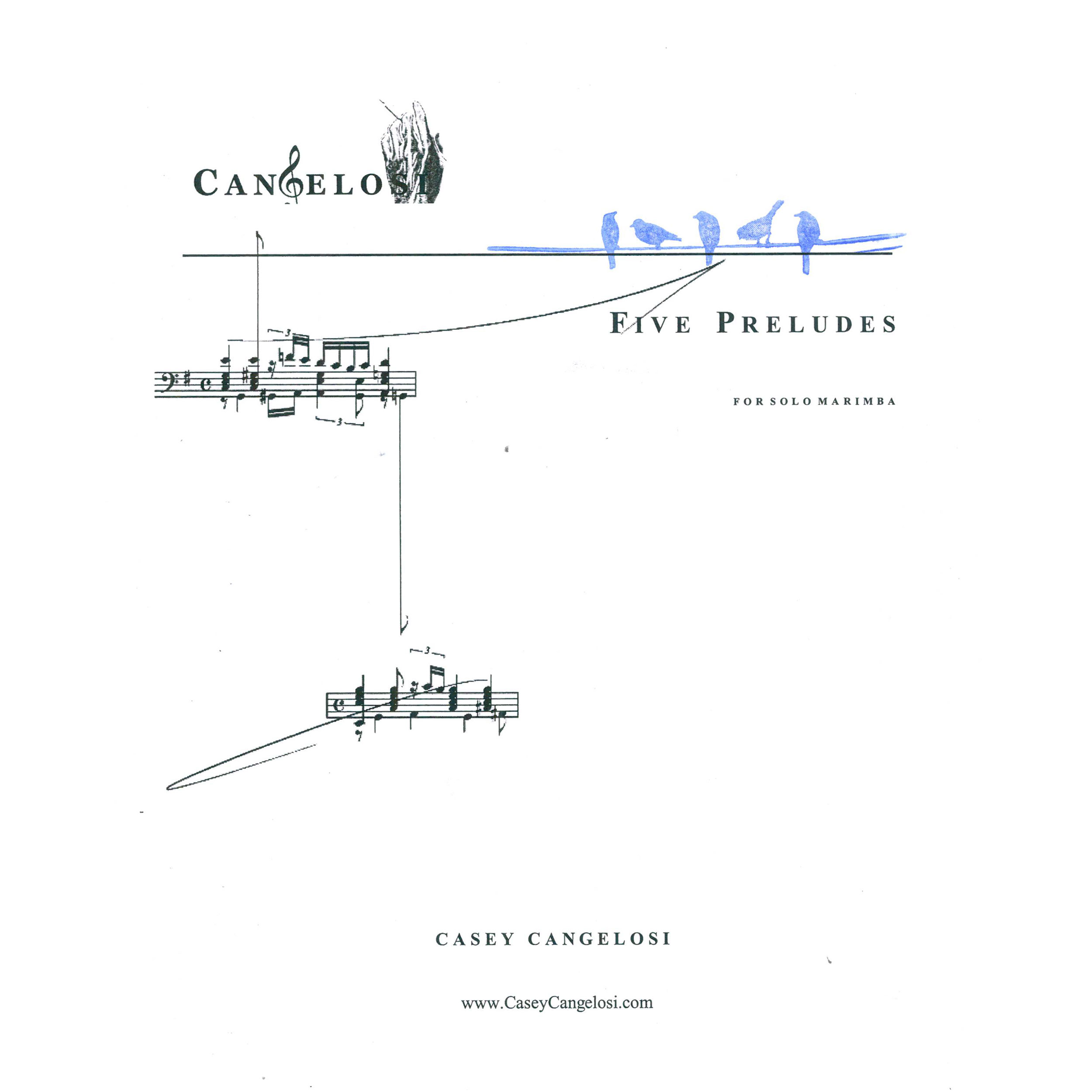 Five Preludes by Casey Cangelosi