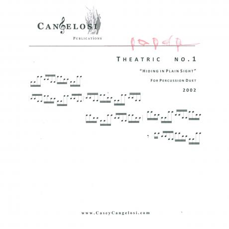 Theatric no. 1 by Casey Cangelosi