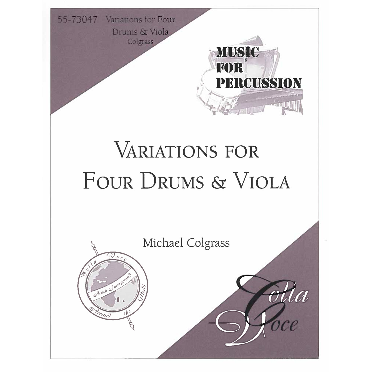 Variations for Four Drums and Viola by Michael Colgrass
