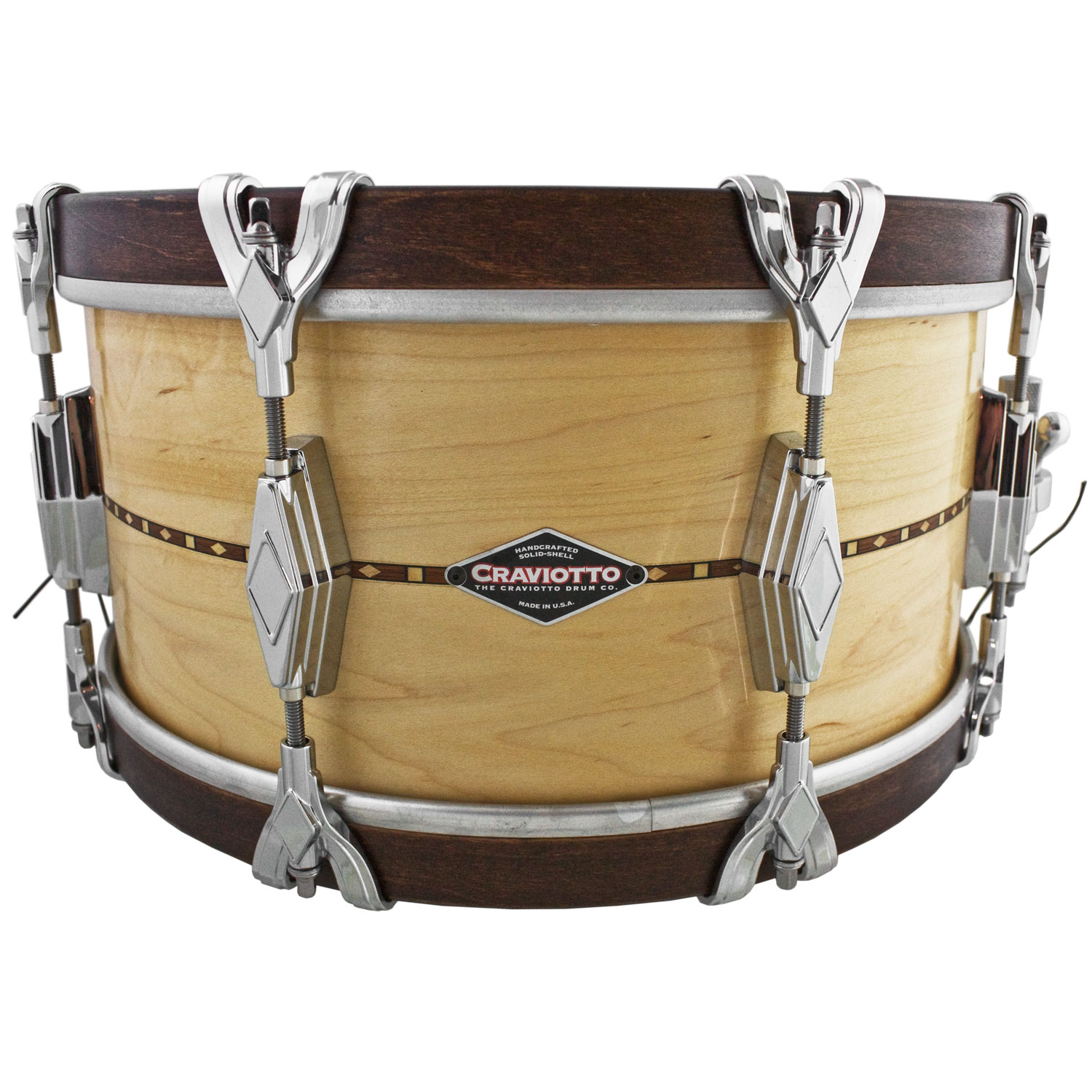 "Craviotto 7"" x 14"" Super Swing Solid Maple Snare Drum"