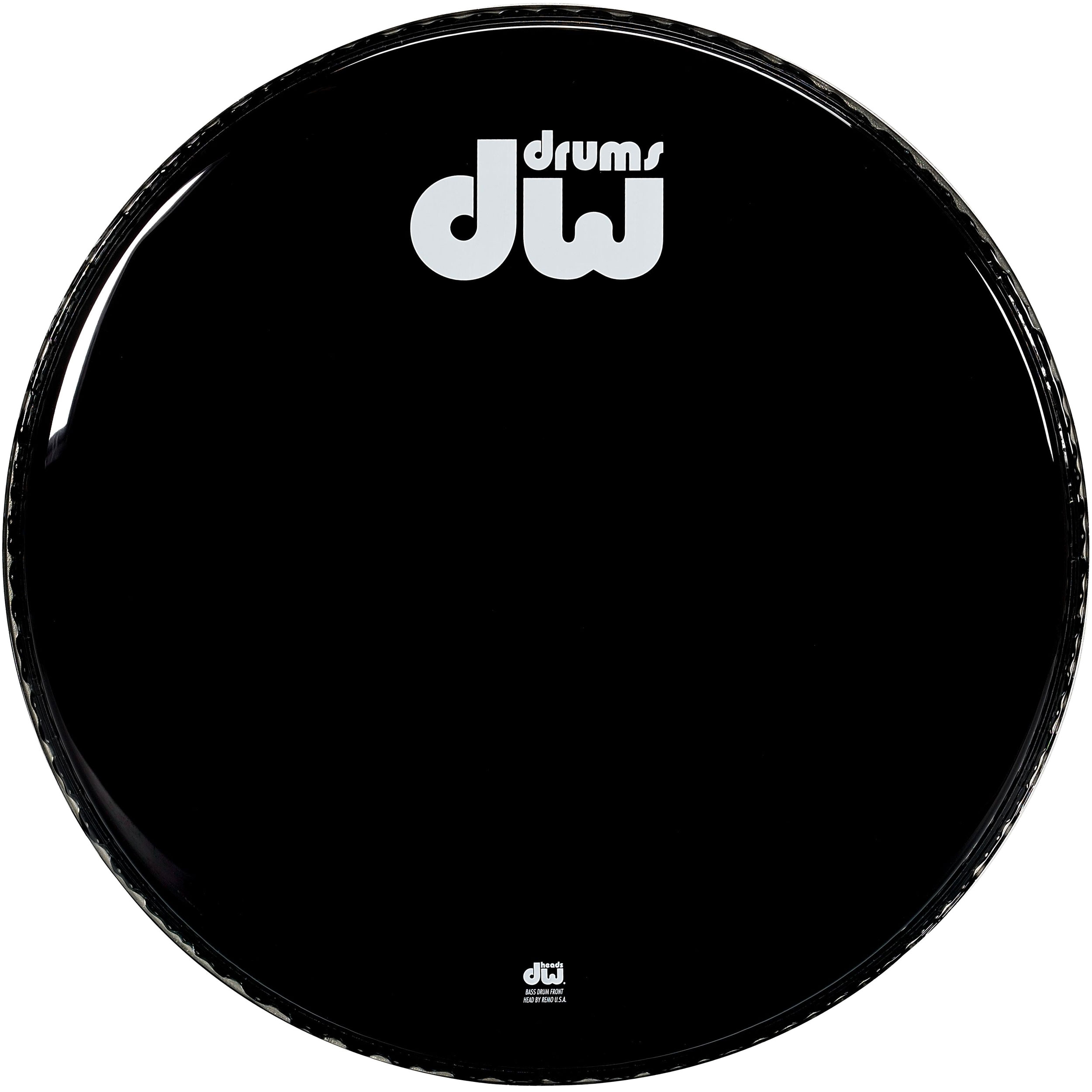 "DW 20"" Gloss Black Non-Vented Bass Head"