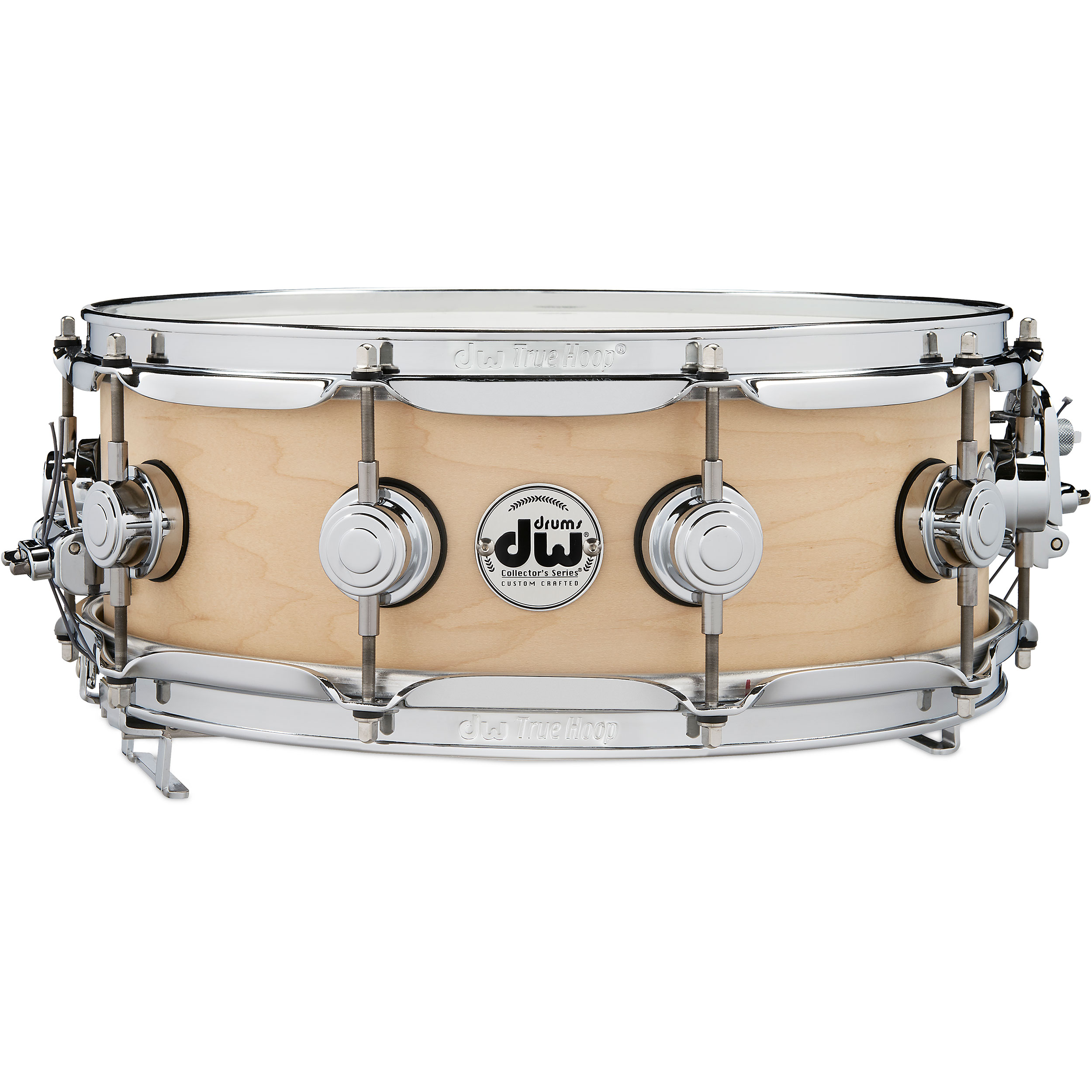 "DW 5"" x 14"" Pure Maple True-Sonic Snare Drum in Satin Oil"
