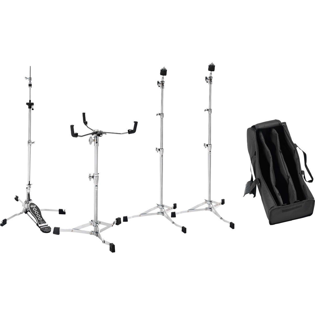 DW 6000 Series Ultralight Drum Set Hardware Pack with Bag